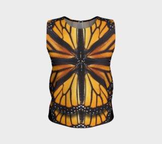 Monarch Butterfly Symmetrical Loose Tank Top preview