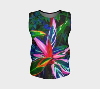 Tropical Loose Tank Top preview
