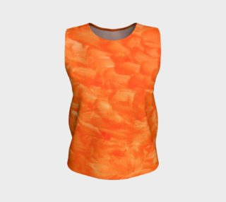 Orange Explosion Loose Tank Top preview