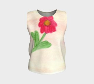 Red Daisy Tank Top preview