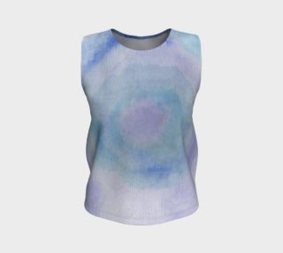 Blue Rose Dance Tank Top preview