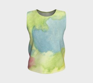 Flowers in Stained Glass Tank Top preview