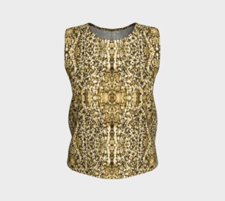 Gold Stone Mosaic Loose Tank Top preview
