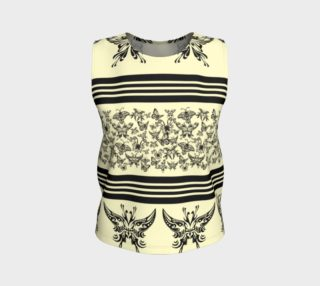 BKC Black Butterfly Loose Fitting Tank Top 3 preview
