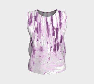 Aperçu de Purple Ice. Loose Tank Top