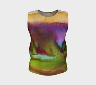 Colorful Watercolor Loose Tank preview