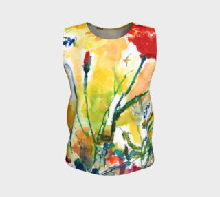Flowers Provence Loose Tank Top preview
