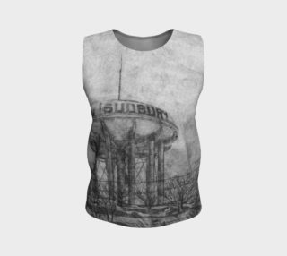The Sudbury Water Tower Black Loose Tank preview