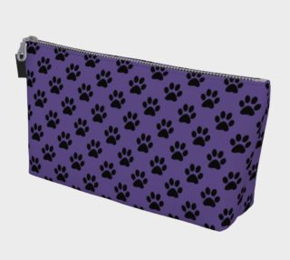 Aperçu de Black Paws on Ultra Violet Purple