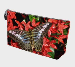 Butterflies on Red Flowers preview