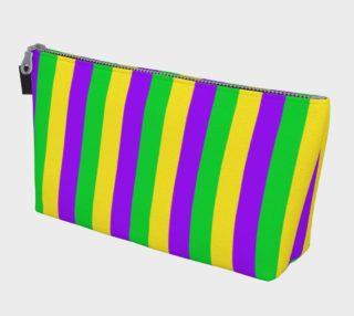 Aperçu de Mardi Gras Purple, Green, and Gold Vertical Stripes