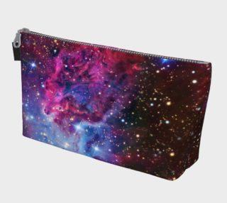 Aperçu de Fox Fur Nebula Makeup Gear Bag with Pocket
