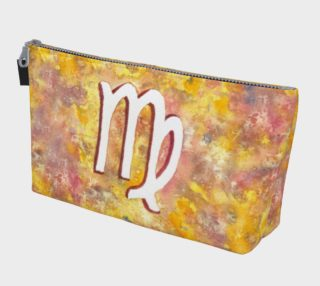 Virgo astrological sign Makeup Bag aperçu