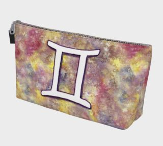 Gemini astrological sign Makeup Bag preview