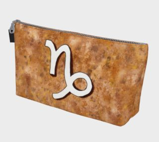 Capricorn astrological sign Makeup Bag preview