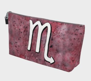Scorpio astrological sign Makeup Bag aperçu