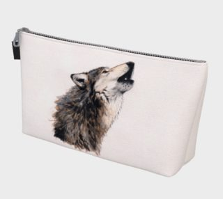 Grey wolf Makeup Bag preview