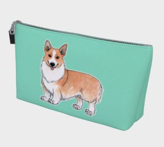 Welsh corgi dog Makeup Bag aperçu