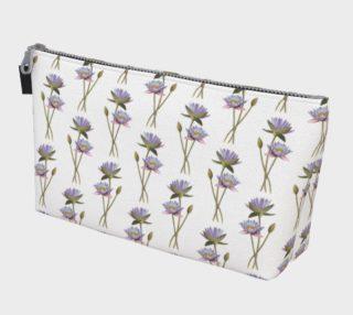 Lotus flowers pattern Makeup Bag preview