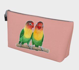 Fischer's lovebirds Makeup Bag preview