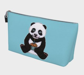 Baby panda's birthday Makeup Bag aperçu