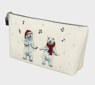 The polar bears wish you a Merry Christmas Makeup Bag preview