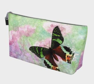 Urania Ripheus butterfly Makeup Bag preview