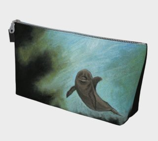 Dolphin underwater Makeup Bag preview