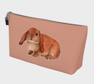 Red rabbit ram Makeup Bag preview