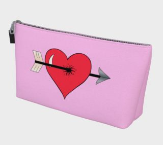Struck by Cupid's Arrow Makeup Bag preview