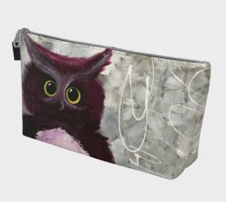 Aperçu de Mulberry Owl Makeup Bag