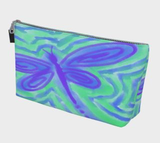 Abstract Dragonfly Art Clutch Purse preview