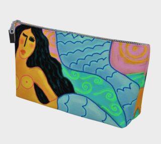 Aperçu de Colorful Abstract Mermaid Clutch Bag