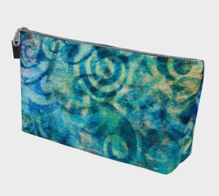 Blue Swirl Makeup Bag preview