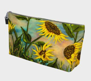 Sunflowers Makeup Bag preview