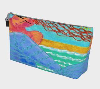 Aperçu de Abstract Mermaid Art Clutch Bag
