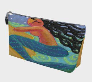 Aperçu de Original Abstract Mermaid Art Clutch Bag