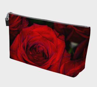 Red Roses Makeup Bag aperçu