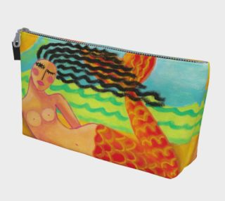 Funky Abstract Mermaid Clutch Bag preview