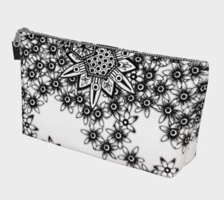 Honeycomb Floral Monochrome Handbag preview