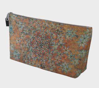 Flower of Life Watercolor Batik Handbag preview