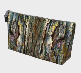 Tree Bark Makeup Gear Bag with Pocket preview