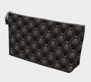 Midnight Dragon Makeup Gear Bag with Pocket preview