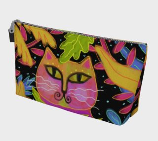Aperçu de Colorful Abstract Cat Clutch Bag