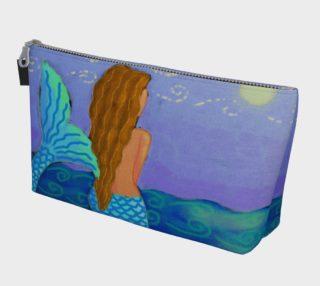 Aperçu de Beautiful Mermaid Abstract Art Clutch Bag