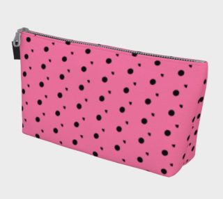 Tracks Bubble Gum Makeup Bag preview