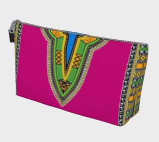 Pink Dashiki Makeup Bag preview