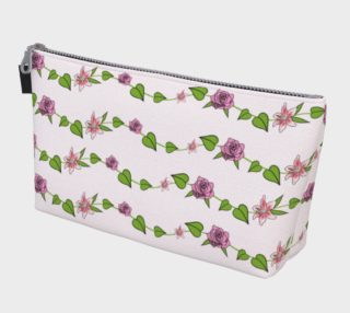 Bouquet of Flowers Makeup Bag preview