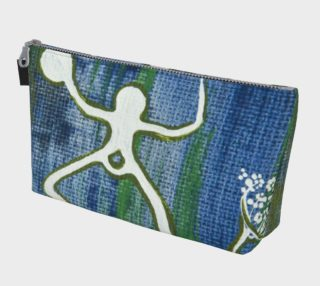 Alutiiq Woman makeup bag - blue preview