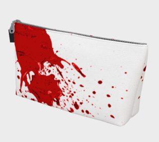 Blood Splatter First Cosplay Halloween Makeup Bag preview